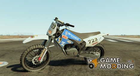 Husqvarna TC450 for Sanchez2 for GTA 5