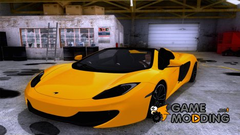 Mclaren MP4-12C Spider for GTA San Andreas
