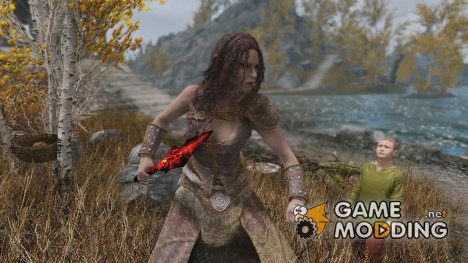 Revamped Ash Spawn Axes для TES V Skyrim