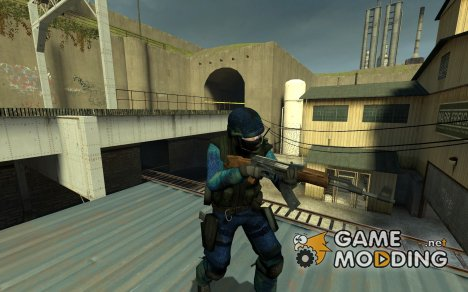 Aqua Strike V 2.0 для Counter-Strike Source