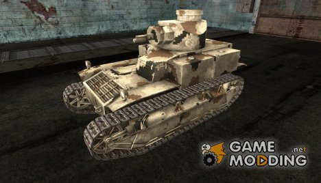Шкурка для T2 med для World of Tanks