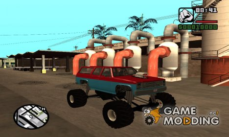 Rancher XL Monster Truck для GTA San Andreas