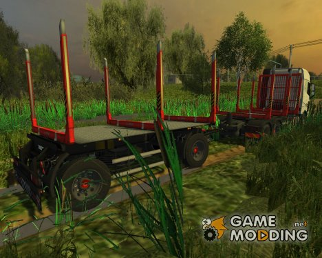 Fliegl Holzanhaenger TTM V1 для Farming Simulator 2013