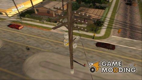 3D Telegraph (MipMap) v1 for GTA San Andreas