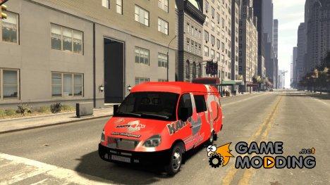 ГАЗель 2705 Telkomsel Van for GTA 4