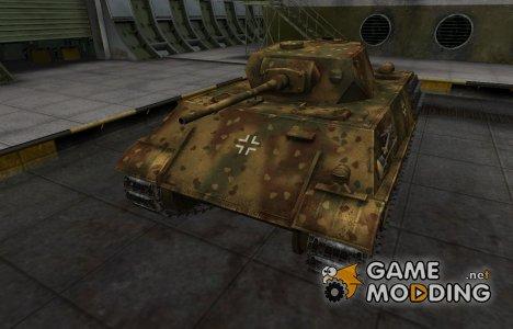 Немецкий скин для VK 28.01 для World of Tanks