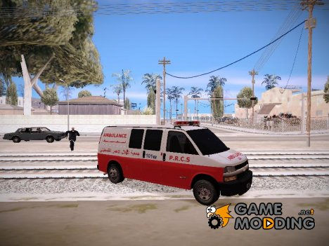 Palestinian Ambluance for GTA San Andreas
