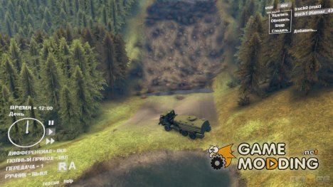 Карта Chocomap 0.5 для Spintires DEMO 2013