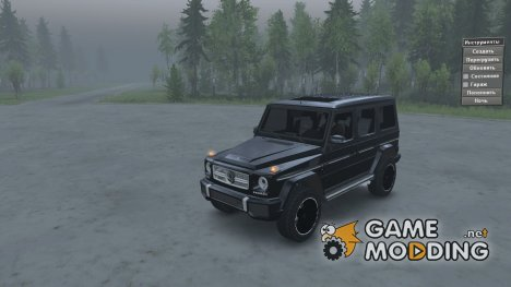 Mercedes-Benz G-65 AMG for Spintires 2014