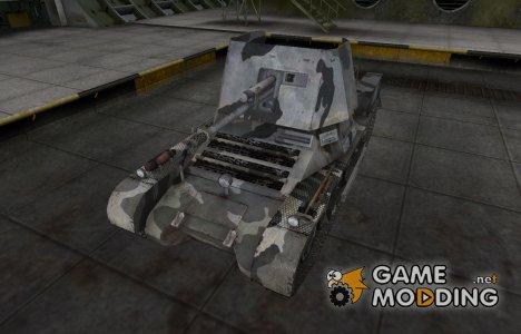 Шкурка для немецкого танка Panzerjäger I для World of Tanks
