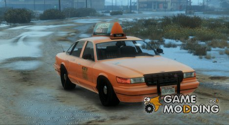 Liberty City Taxi V1 for GTA 5