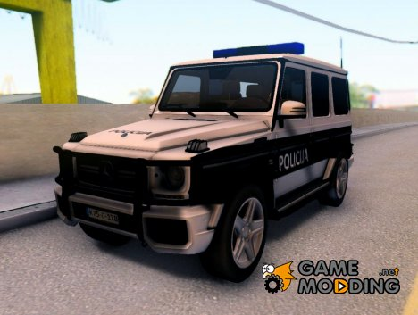 Mercedes-Benz G65 AMG BIH Police Car для GTA San Andreas