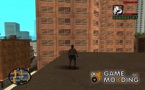 WallRun для GTA San Andreas