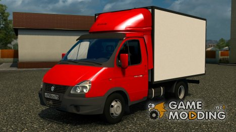 ГАЗель Бизнес 3302 for Euro Truck Simulator 2