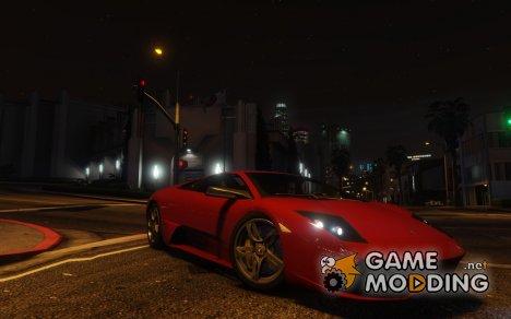 Lamborghini Murcielago для GTA 5