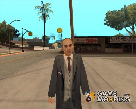 Фрэнк из Mafia for GTA San Andreas