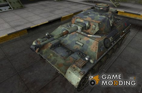 Шкурка для PzKpfw III/IV для World of Tanks