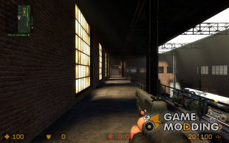 Sam Fisher\'s 5-7 Redux for Counter-Strike Source