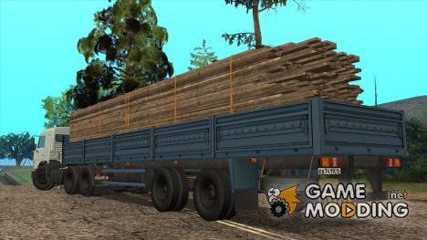 Полуприцеп МАЗ 933001 for GTA San Andreas