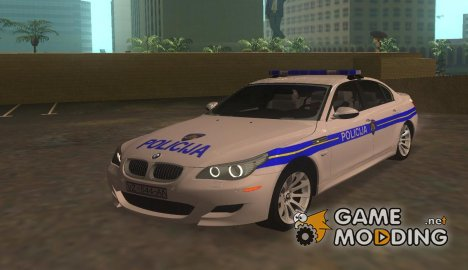 BMW M5 Croatian police для GTA San Andreas