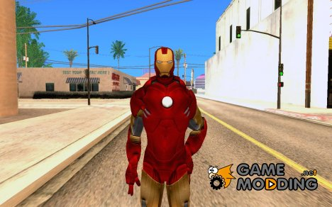 Iron man MarkIV for GTA San Andreas