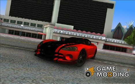 Dodge Viper SRT-10 ACR для GTA Vice City
