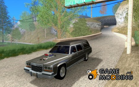 Cadillac Fleetwood Hearse Tuned для GTA San Andreas