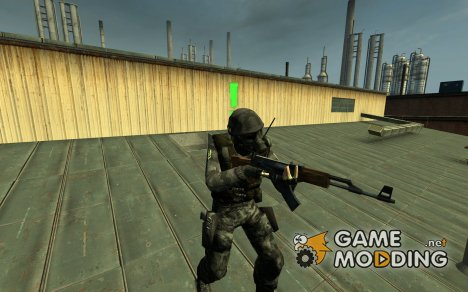 Half Life 1 Soldier Look-a-Like for Counter-Strike Source