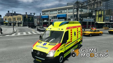 Mercedes-Benz Sprinter 2011 Ambulance for GTA 4