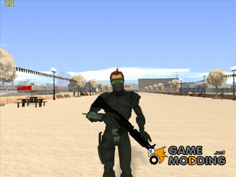 New Goblin (Spiderman FOE) BETA для GTA San Andreas