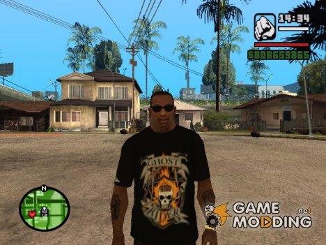 """Футболка """"Гонщик"""" для GTA San Andreas"""