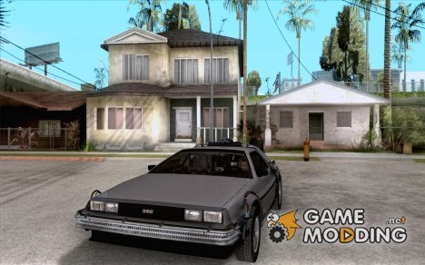 Crysis Delorean BTTF1 для GTA San Andreas