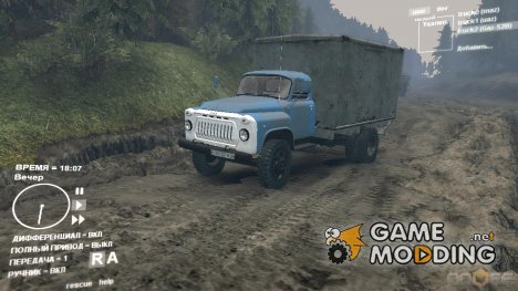 ГАЗ 52 с будкой для Spintires DEMO 2013