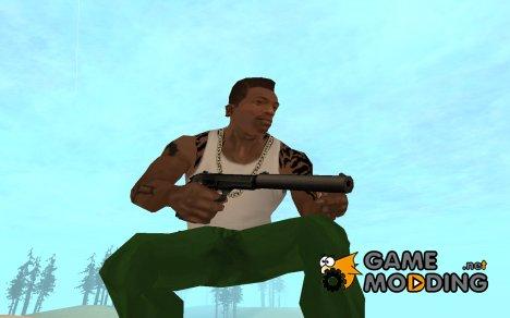 HK USP «Матерь божья» с глушителем for GTA San Andreas