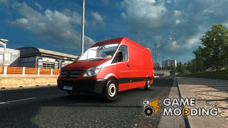 Mercedes Sprinter 2009 1.22 V6 for Euro Truck Simulator 2