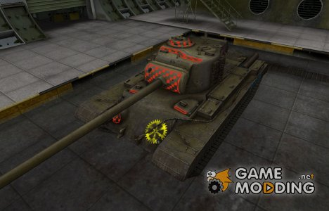 Качественные зоны пробития для T32 for World of Tanks
