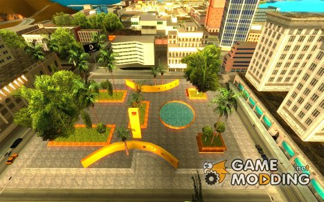 Новый центральный парк Лос Сантоса for GTA San Andreas