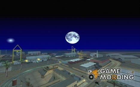 Круглая луна для GTA San Andreas