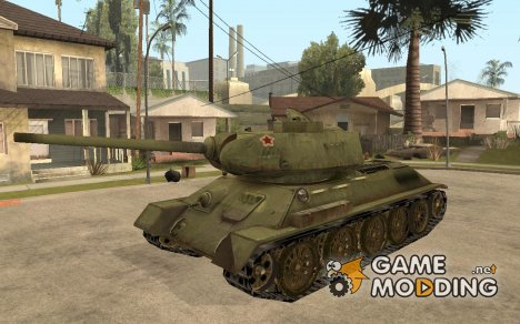 Танк СССР из игры В тылу врага 2 для GTA San Andreas