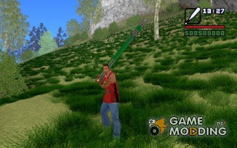 Бита в стиле Гроув для GTA San Andreas