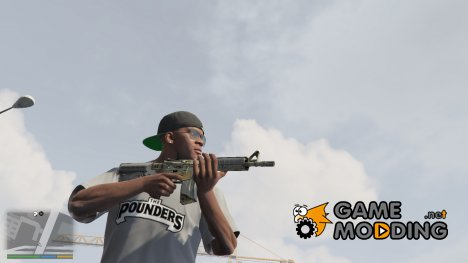 M4A4 Modern Hunter from CS:GO 1.0 for GTA 5