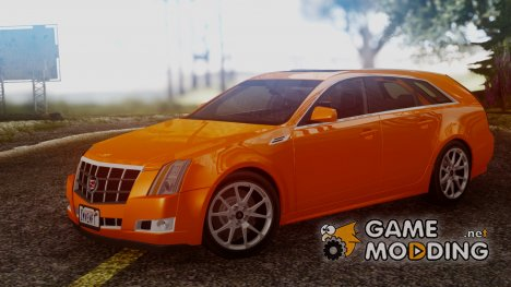 Cadillac CTS Sport Wagon 2010 for GTA San Andreas