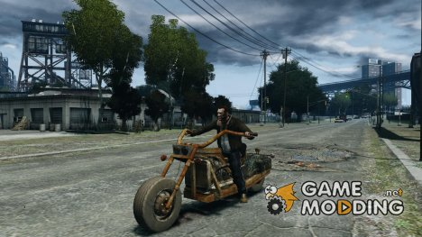 Harley Davidson Home-Made для GTA 4