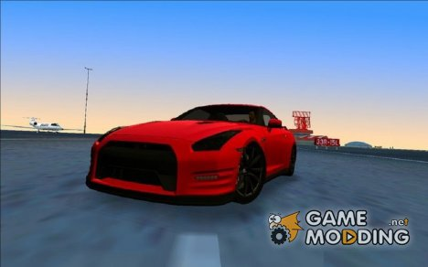 Nissan GTR R35 Black Edition for GTA Vice City