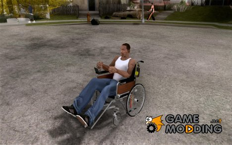 Инвалидная коляска for GTA San Andreas