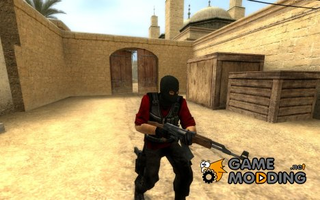 Red And Grey Terrorist for Counter-Strike Source
