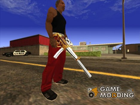MP5 пчела for GTA San Andreas