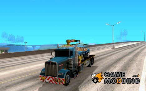 Kenworth W900 SALVAGE TRUCK для GTA San Andreas