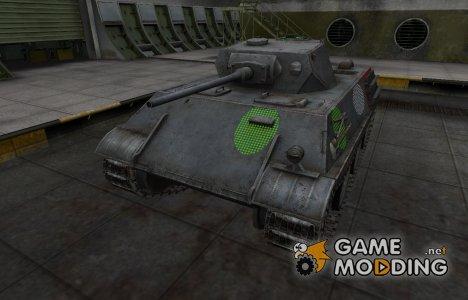 Зона пробития VK 28.01 for World of Tanks