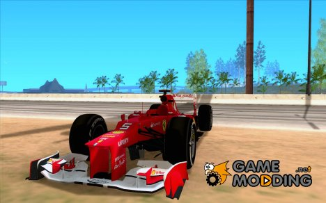 [DOUBLE]   Scuderia Ferrari F1 2012 for GTA San Andreas
